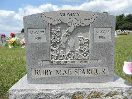 SPARCUR, RUBY MAE - Pike County, Ohio | RUBY MAE SPARCUR - Ohio Gravestone Photos