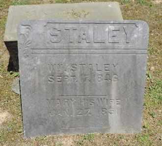 STALEY, MARY - Pike County, Ohio | MARY STALEY - Ohio Gravestone Photos