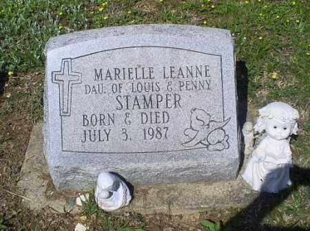 STAMPER, MARIELLE LEANNE - Pike County, Ohio | MARIELLE LEANNE STAMPER - Ohio Gravestone Photos