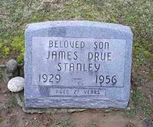 STANLEY, JAMES DRUE - Pike County, Ohio | JAMES DRUE STANLEY - Ohio Gravestone Photos