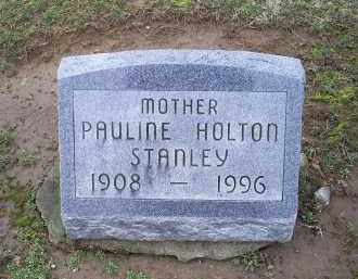 HOLTON STANLEY, PAULINE - Pike County, Ohio | PAULINE HOLTON STANLEY - Ohio Gravestone Photos