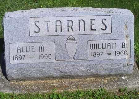 STARNES, WILLIAM B. - Pike County, Ohio | WILLIAM B. STARNES - Ohio Gravestone Photos