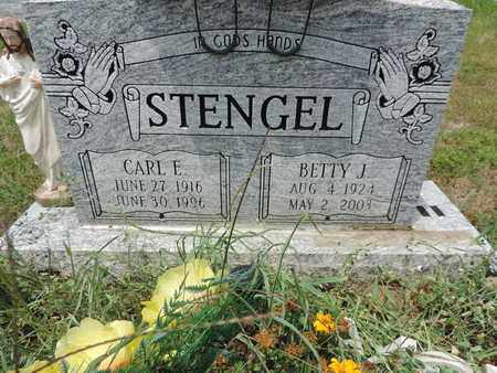 STENGEL, CARL E. - Pike County, Ohio | CARL E. STENGEL - Ohio Gravestone Photos