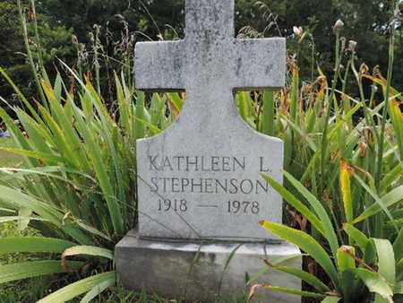 STEPHENSON, KATHLEEN L. - Pike County, Ohio | KATHLEEN L. STEPHENSON - Ohio Gravestone Photos