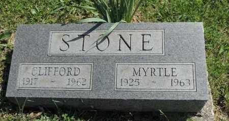 STONE, MYRTLE - Pike County, Ohio | MYRTLE STONE - Ohio Gravestone Photos