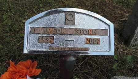 STONE, JASON - Pike County, Ohio | JASON STONE - Ohio Gravestone Photos