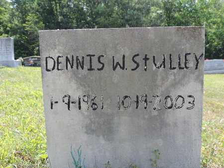 STULLEY, DENNIS W. - Pike County, Ohio | DENNIS W. STULLEY - Ohio Gravestone Photos