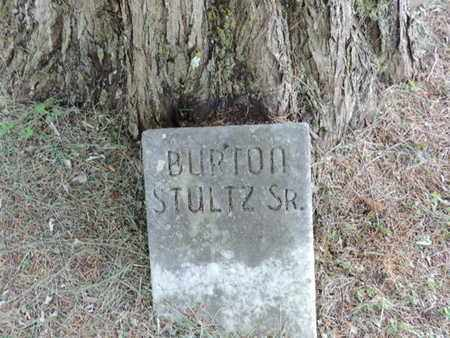 STULTZ, BURTON - Pike County, Ohio   BURTON STULTZ - Ohio Gravestone Photos