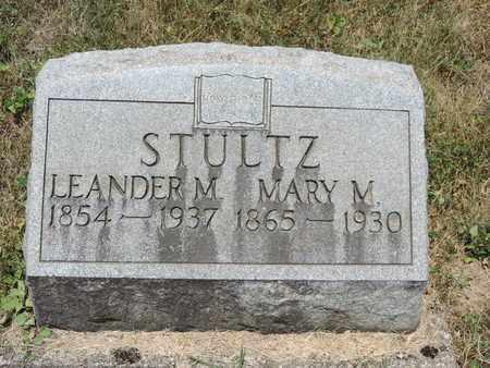 STULTZ, LEANDER M. - Pike County, Ohio | LEANDER M. STULTZ - Ohio Gravestone Photos