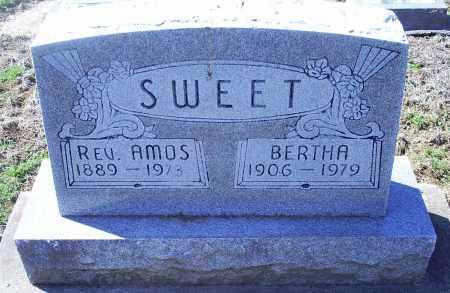 SWEET, REV. AMOS - Pike County, Ohio | REV. AMOS SWEET - Ohio Gravestone Photos