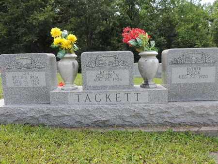 TACKETT, DUCK - Pike County, Ohio | DUCK TACKETT - Ohio Gravestone Photos