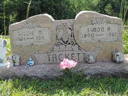 TACKETT, GILLIE M. - Pike County, Ohio | GILLIE M. TACKETT - Ohio Gravestone Photos