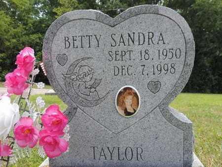 TAYLOR, BETTY SANDRA - Pike County, Ohio | BETTY SANDRA TAYLOR - Ohio Gravestone Photos