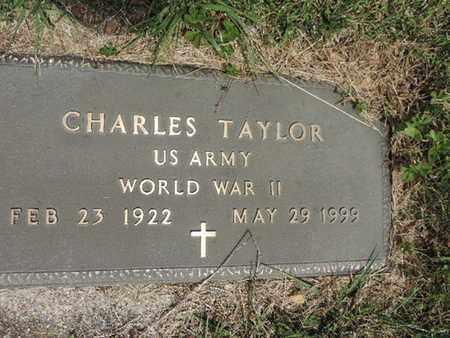 TAYLOR, CHARLES - Pike County, Ohio   CHARLES TAYLOR - Ohio Gravestone Photos