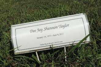 TAYLOR, DEE JAY SHANNON - Pike County, Ohio   DEE JAY SHANNON TAYLOR - Ohio Gravestone Photos