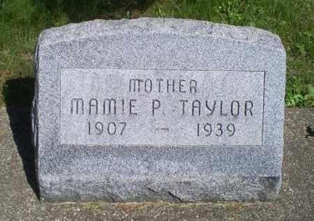 TAYLOR, MAMIE P. - Pike County, Ohio | MAMIE P. TAYLOR - Ohio Gravestone Photos