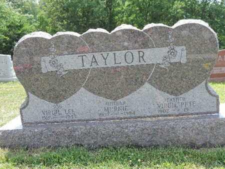 TAYLOR, VIRGIL - Pike County, Ohio | VIRGIL TAYLOR - Ohio Gravestone Photos