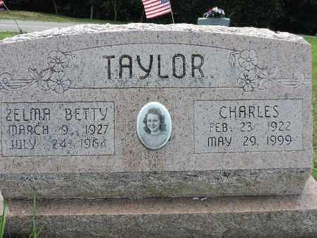 TAYLOR, ZELMA BETTY - Pike County, Ohio | ZELMA BETTY TAYLOR - Ohio Gravestone Photos