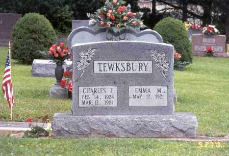 TEWKSBURY, CHARLES E. - Pike County, Ohio | CHARLES E. TEWKSBURY - Ohio Gravestone Photos