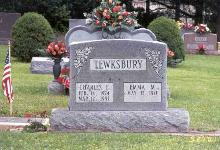 TEWKSBURY, EMMA - Pike County, Ohio | EMMA TEWKSBURY - Ohio Gravestone Photos