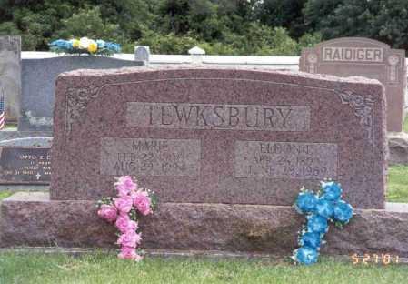TEWKSBURY, ELDON L. - Pike County, Ohio | ELDON L. TEWKSBURY - Ohio Gravestone Photos