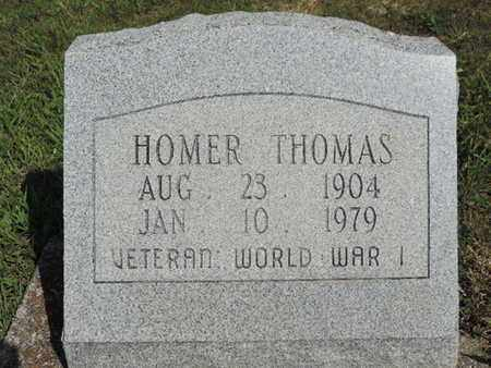 THOMAS, HOMER - Pike County, Ohio | HOMER THOMAS - Ohio Gravestone Photos