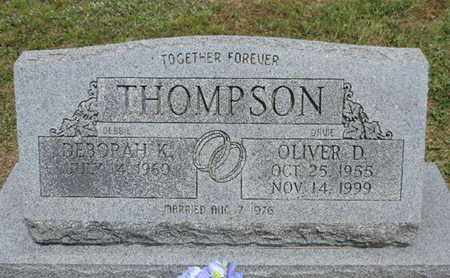THOMPSON, OLIVER D. - Pike County, Ohio   OLIVER D. THOMPSON - Ohio Gravestone Photos