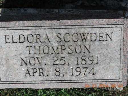 SCOWDEN THOMPSON, ELDORA - Pike County, Ohio | ELDORA SCOWDEN THOMPSON - Ohio Gravestone Photos