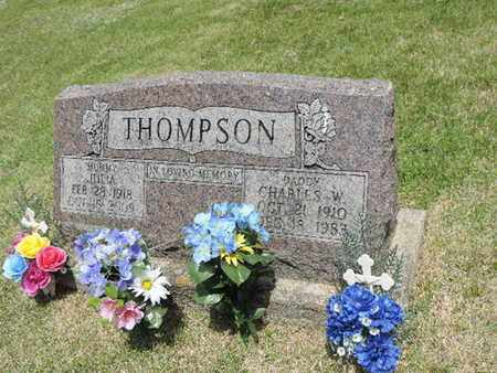 THOMPSON, CHARLES W. - Pike County, Ohio | CHARLES W. THOMPSON - Ohio Gravestone Photos