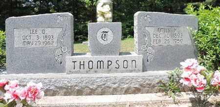 THOMPSON, EMILY H. - Pike County, Ohio | EMILY H. THOMPSON - Ohio Gravestone Photos