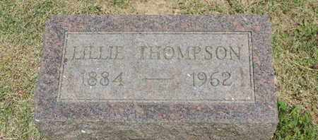 THOMPSON, LILLIE - Pike County, Ohio | LILLIE THOMPSON - Ohio Gravestone Photos