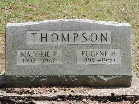 THOMPSON, MAJORIE F. - Pike County, Ohio   MAJORIE F. THOMPSON - Ohio Gravestone Photos