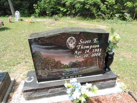THOMPSON, SCOTT E. - Pike County, Ohio | SCOTT E. THOMPSON - Ohio Gravestone Photos