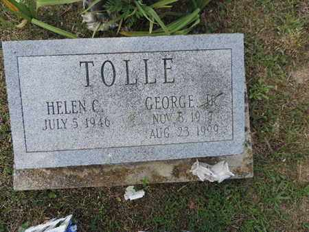 TOLLE, HELEN C. - Pike County, Ohio | HELEN C. TOLLE - Ohio Gravestone Photos