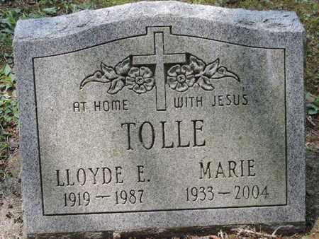 TOLLE, LLOYDE E. - Pike County, Ohio | LLOYDE E. TOLLE - Ohio Gravestone Photos