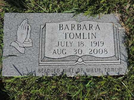 TOMLIN, BARBARA - Pike County, Ohio | BARBARA TOMLIN - Ohio Gravestone Photos