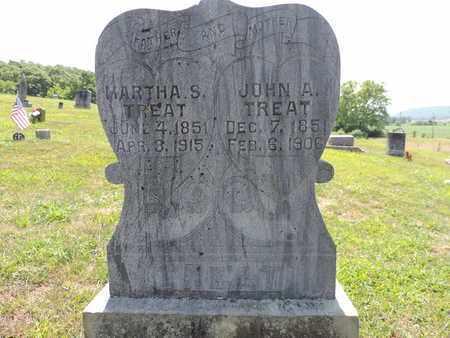 TREAT, JOHN A. - Pike County, Ohio   JOHN A. TREAT - Ohio Gravestone Photos
