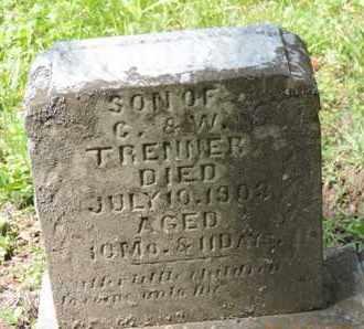TRENNER, WILLIAM - Pike County, Ohio | WILLIAM TRENNER - Ohio Gravestone Photos