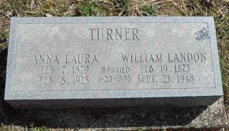 TURNER, WILLIAM LANDON - Pike County, Ohio   WILLIAM LANDON TURNER - Ohio Gravestone Photos