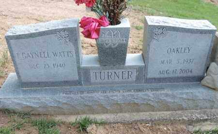 TURNER, OAKLEY - Pike County, Ohio | OAKLEY TURNER - Ohio Gravestone Photos