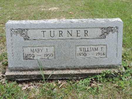 TURNER, MARY J. - Pike County, Ohio | MARY J. TURNER - Ohio Gravestone Photos