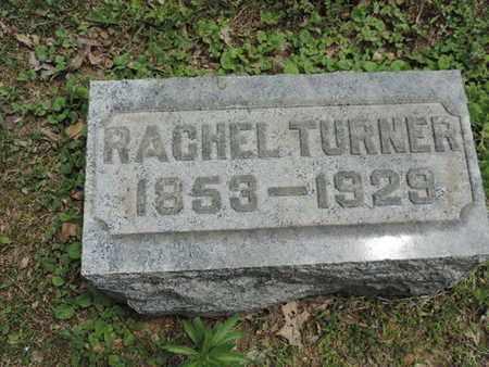 TURNER, RACHEL - Pike County, Ohio   RACHEL TURNER - Ohio Gravestone Photos