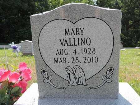 VALLINO, MARY - Pike County, Ohio   MARY VALLINO - Ohio Gravestone Photos