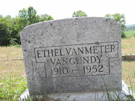 VANGUNDY, ETHEL - Pike County, Ohio   ETHEL VANGUNDY - Ohio Gravestone Photos