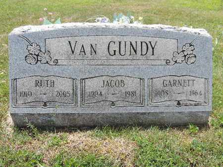 VANGUNDY, GARNETT - Pike County, Ohio | GARNETT VANGUNDY - Ohio Gravestone Photos