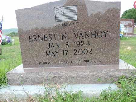 VANHOY, ERNEST N. - Pike County, Ohio | ERNEST N. VANHOY - Ohio Gravestone Photos