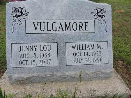 VULGAMORE, JENNY LOU - Pike County, Ohio | JENNY LOU VULGAMORE - Ohio Gravestone Photos