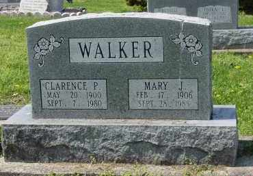 WALKER, CLARENCE - Pike County, Ohio | CLARENCE WALKER - Ohio Gravestone Photos