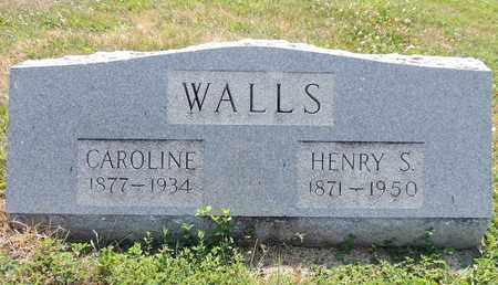 WALLS, CAROLINE - Pike County, Ohio | CAROLINE WALLS - Ohio Gravestone Photos