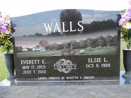 WALLS, EVERETT E. - Pike County, Ohio   EVERETT E. WALLS - Ohio Gravestone Photos